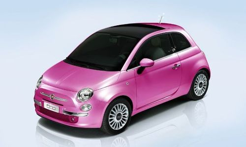 Italians have created Fiat 500 for Barbie