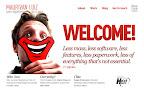 Promo web site