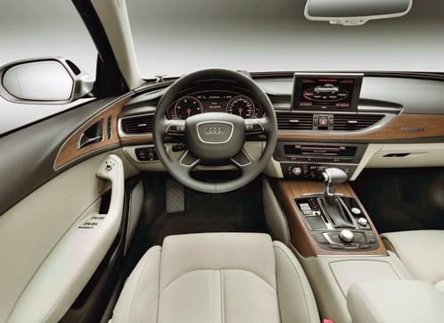 Audi A6, interior