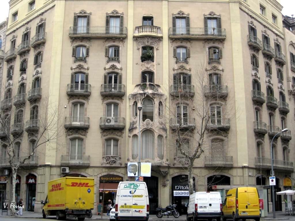 Casa eusebi castells barcelona modernista - Casa modernista barcelona ...
