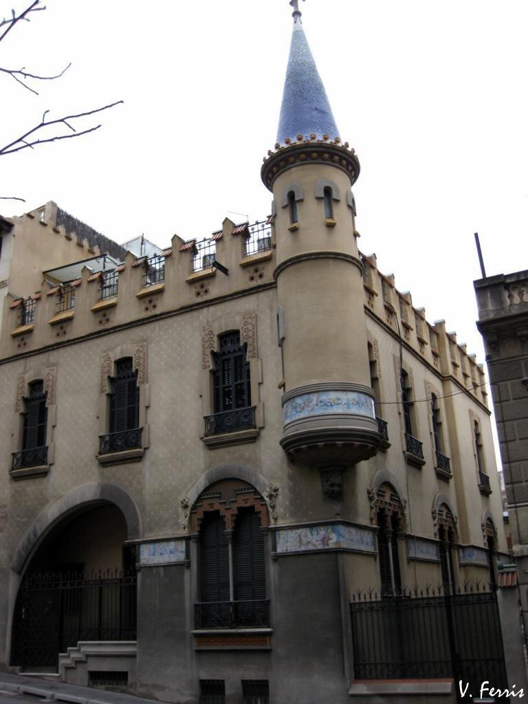 Casa comas d 39 argemir barcelona modernista - Casa modernista barcelona ...