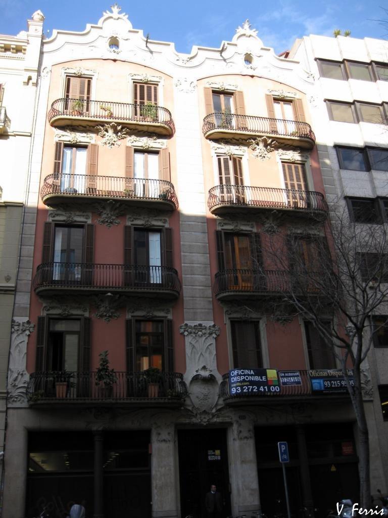Casa josep j bertrand barcelona modernista - Casa modernista barcelona ...