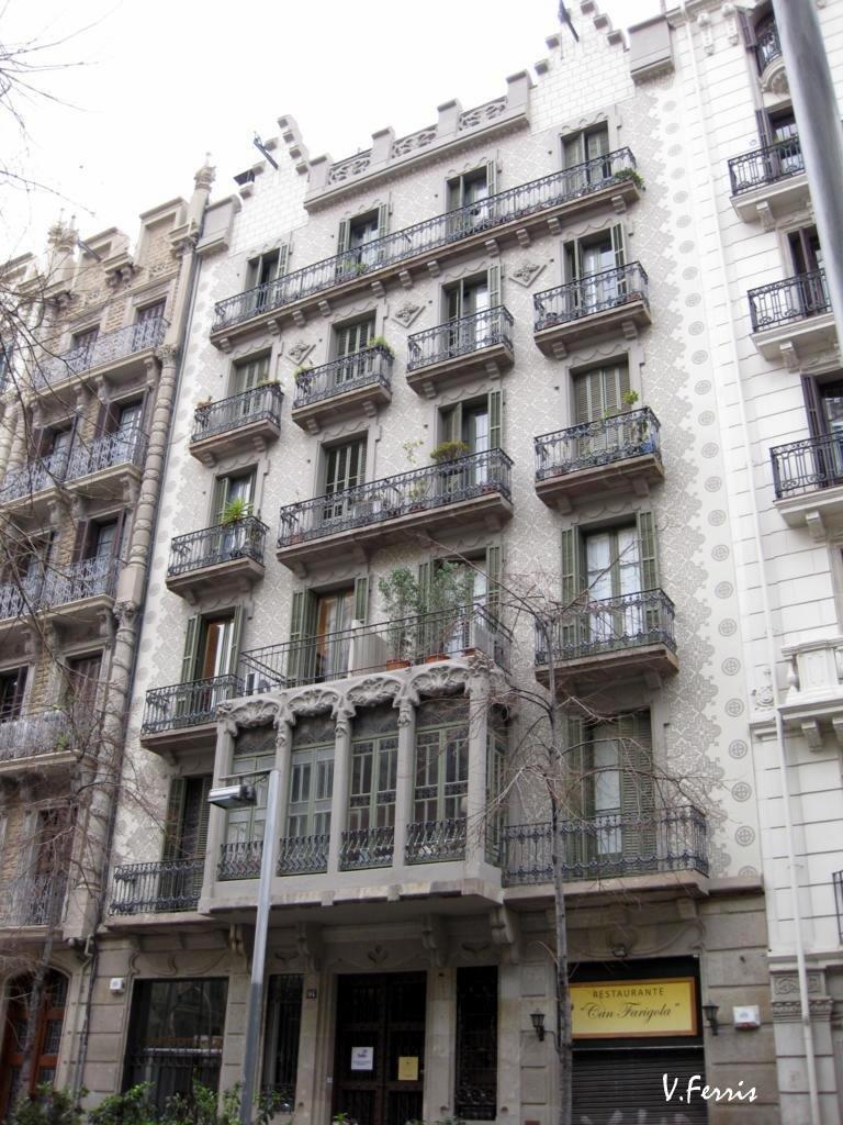 Casa adolf ruiz barcelona modernista - Casa modernista barcelona ...
