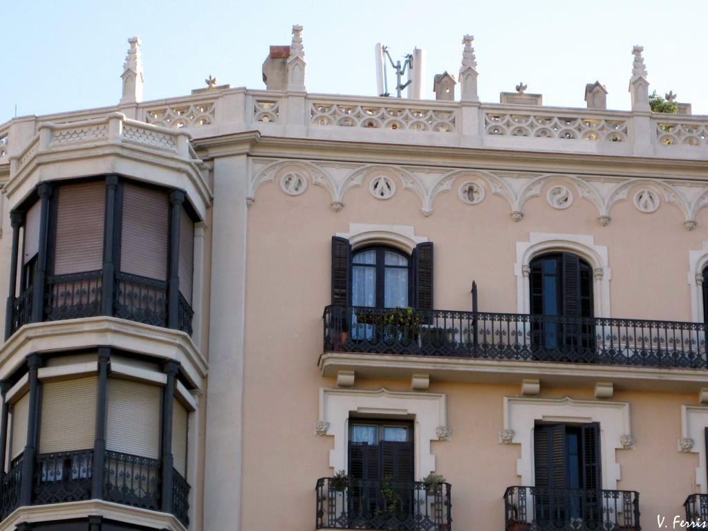 Casa jaume sahis i barcelona modernista - Casa modernista barcelona ...