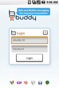 ebuddy interface-1