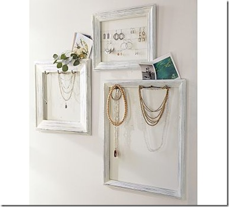 Jewelry display frames_Pottery Barn