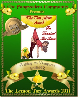 The Tutti Fruiti Award 3rd Place