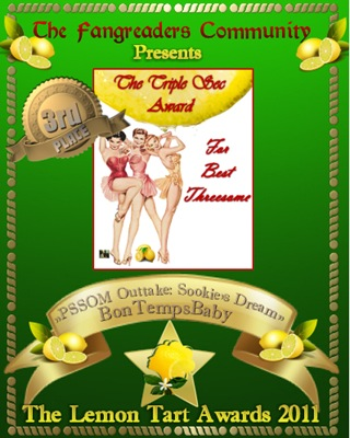 The Triple Sec Award 3rd Place