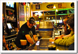 image of Don Webb behind the bar, courtesy of +Russ's Flickr Page