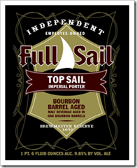 "image of Top Sail ""Black Gold"" Imperial Porter courtesy of Full Sail Brewing"