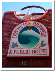 image of Deschutes Brewery's original location in Bend, OR courtesy of pete4ducks' Flickr page