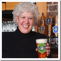 image of Full Sail CEO Irene Firmat courtesy of Full Sail Brewing Company