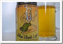 image of Maui Bikini Blonde Lager courtesy of our Flickr page