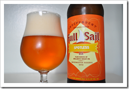 image of Full Sail Spotless India Pale Ale courtesy of our Flickr page