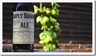 image of Simply Summer Farmhouse Ale courtesy of our Flickr page