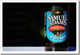 image of Samuel Adams' Imperial White courtesy of our Flickr page
