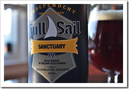 image of Full Sail's Sanctuary Belgian-style Dubbel courtesy of our Flickr page