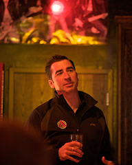 image of owner and brewer Adam Avery courtesy of The Herald Review