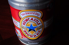 image of Newcastle Brown Ale courtesy of our Flickr page