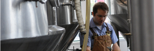 A Silver City Brewer hard at work, courtesy of our Flickr page