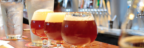 image of three 12oz Barleywine's courtesy of our Flickr page