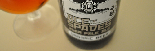 image from last year's review of Hopworks' Ace of Spades Imperial India Pale Ale, courtesy of our flickr page