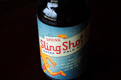 image of Sling Shot Extra Pale Ale courtesy of our Flickr page