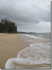 Phra Ae Beach waves south