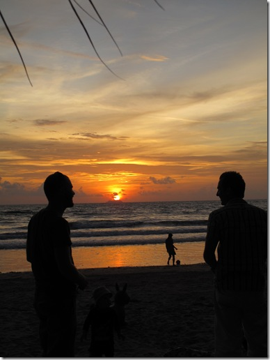 sunset klong dao koh lanta