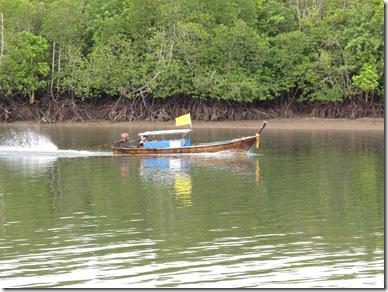 Krabi River Boat