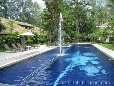Pool at Nai Yang Beach Resort