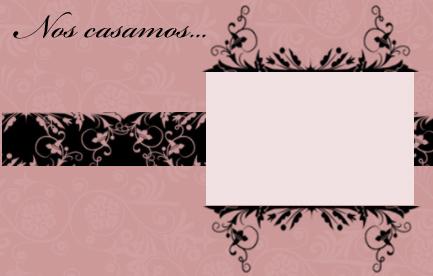 invitacion de boda en color rosa viejo para imprimir