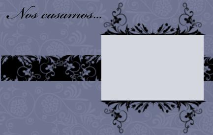 invitacion de boda en color azul viejo para imprimir