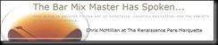 The Bar Mix Master Has Spoken Logo
