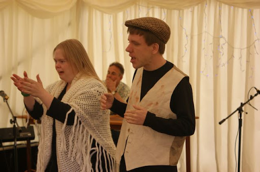 Shine On Performing at the Cream Tea