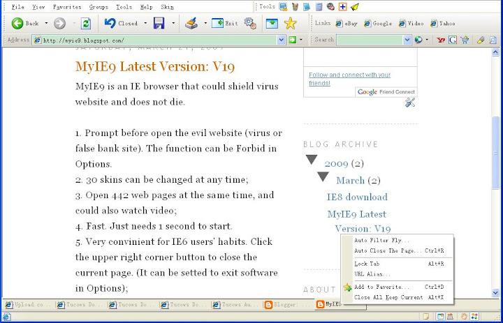 MyIE9 Browser 33.0
