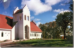 Undated West Denmark Lutheran Church - third building