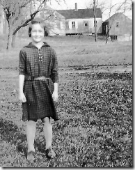 Annie Billings 24 Nov 1932 Fisher Road house cropped