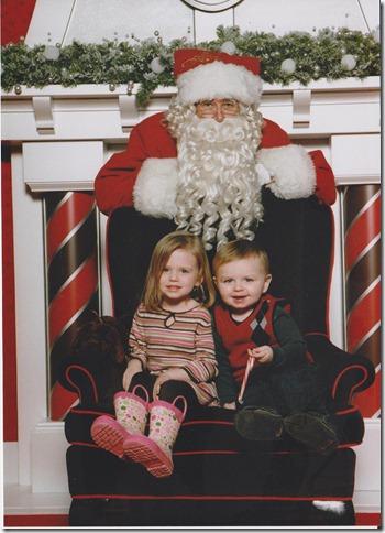 Christmas Niamh age 4 001