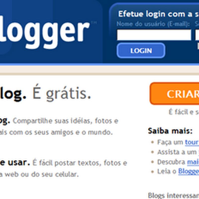 Diferenças entre o Blogger e o Blogger Brasil