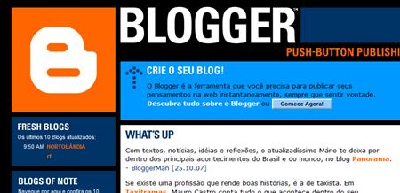 Home do Blogger Brasil