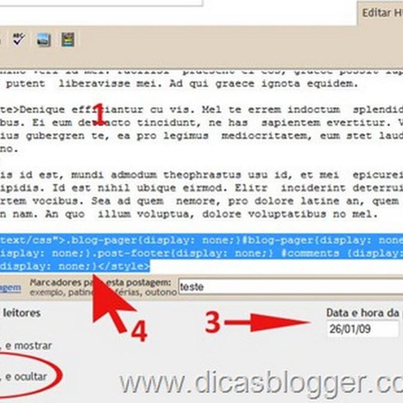 Páginas estáticas com CSS
