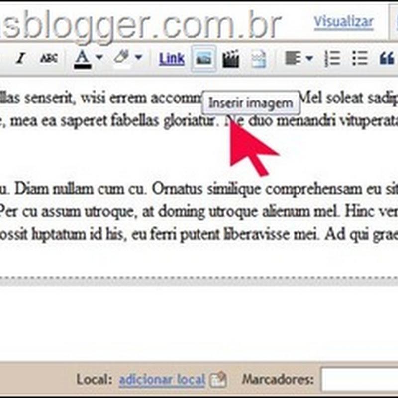 Novos recursos de imagens no Blogger In Draft