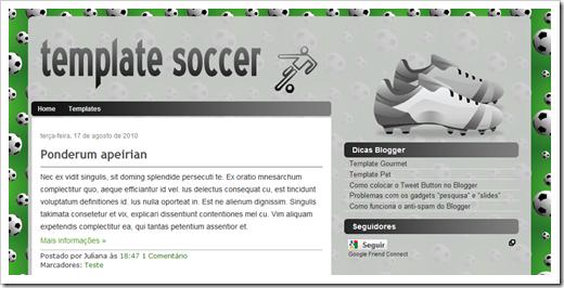 Template Soccer