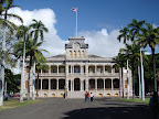 Iolani palace - hawaii five o