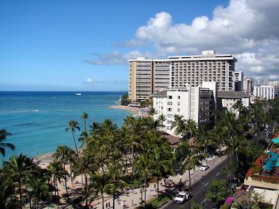 Waikliki Beach, Honolulu Hawaii