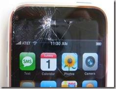 """""""il mitico Nokia N97"""" in realtà ho comprato un I-Phone in terza mano lievemente danneggiato"""