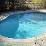 vinyl liner oasis pool in Newbury, MA