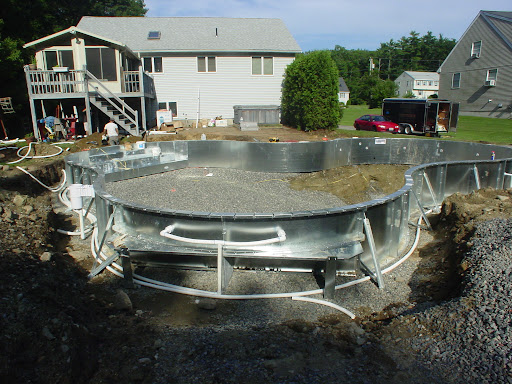 In Ground Pool Construction Process Step By Step