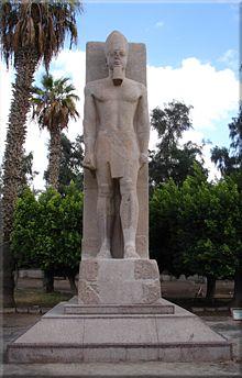 Estatua de granito de Ramses II, Museo Mit Rahina